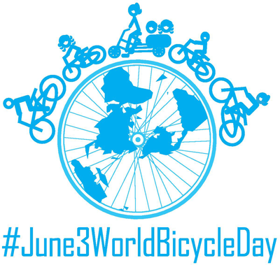 World Bicycle Day logo