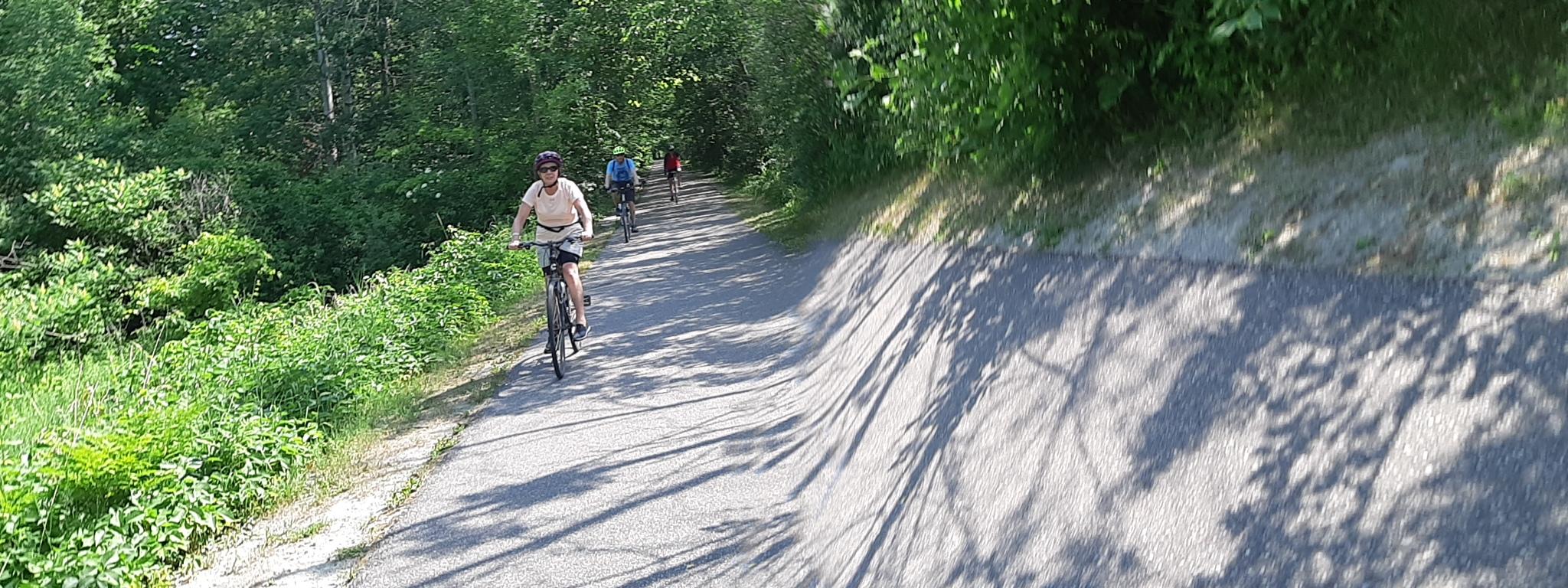 Tay Trail along Lake Huron