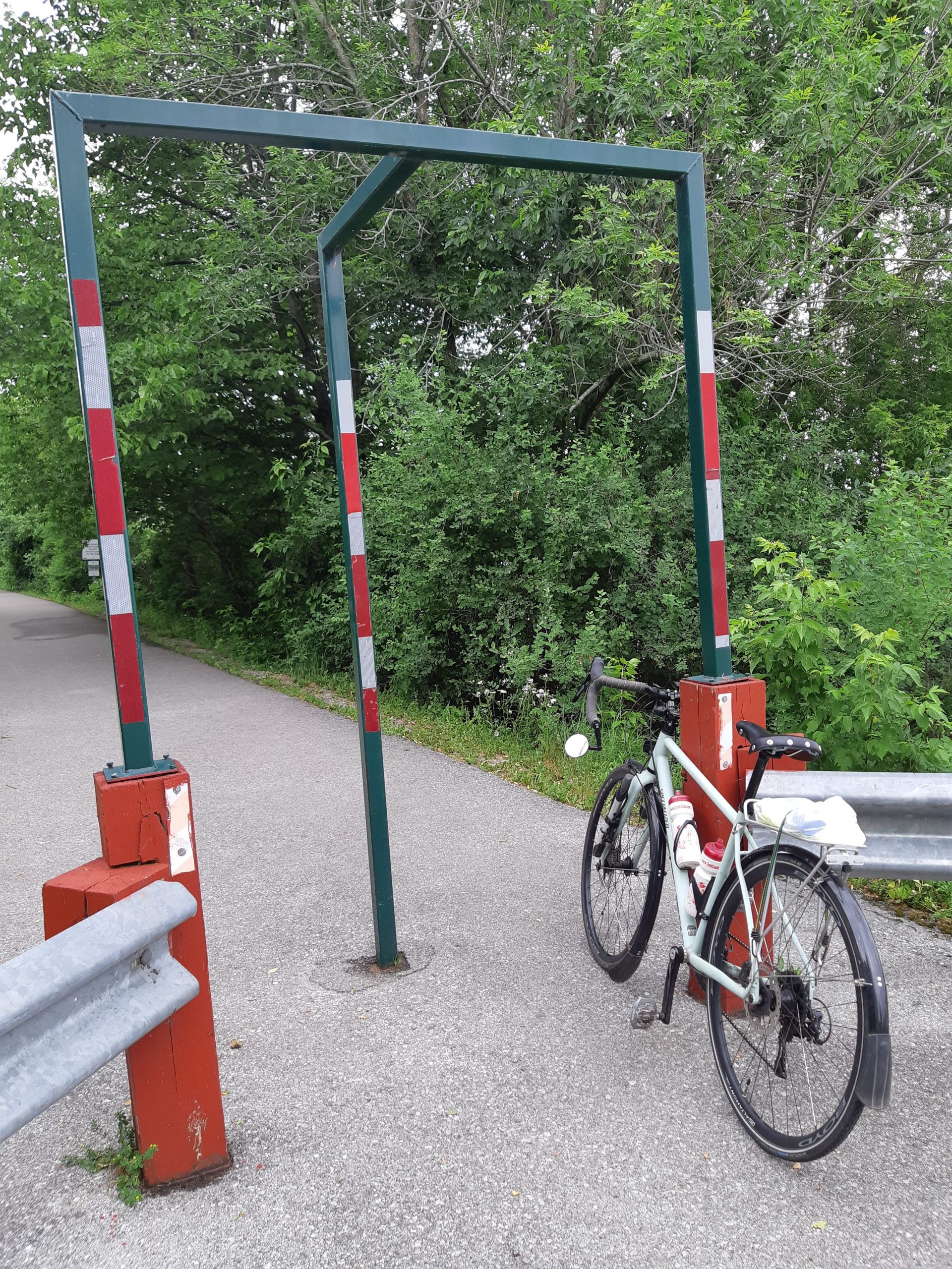 Trail Barriers to Control Access and Speed