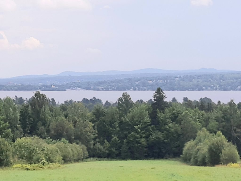 View of Lake Magog