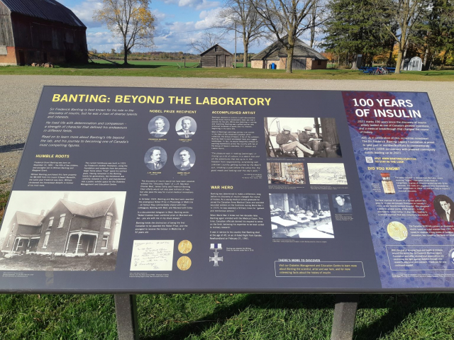Banting Homestead Information