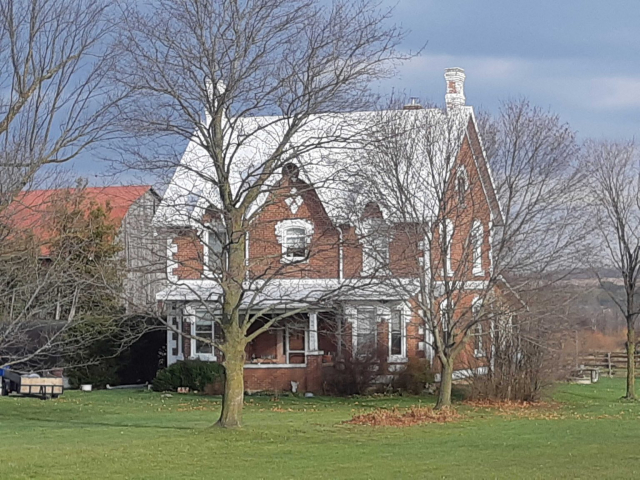 Century home in the country